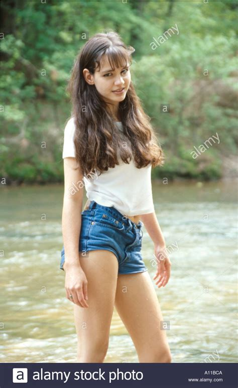 teen modell marilyn ball stockfotografie alamy