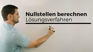 Nullstellen Berechnen Online : nullstellen berechnen l sungsverfahren bersicht nachhilfe online mathe by daniel jung ~ Themetempest.com Abrechnung