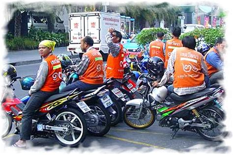 New Rules For Motorcycle Taxi In Pattaya