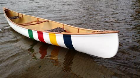 anniversary hbc multi stripe kevlar langford canoe