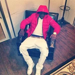 Chief Keef Wearing Moncler Maya Jacket & Fendi Belt ...