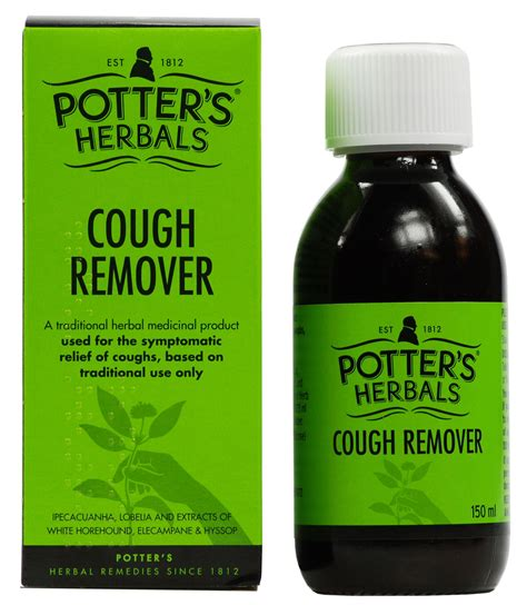 buy potters herbal cough remover ml  chemistcouk