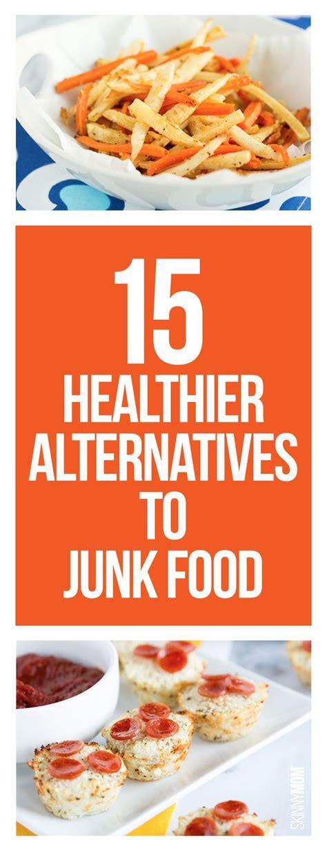 healthier alternatives  junk food healthy food