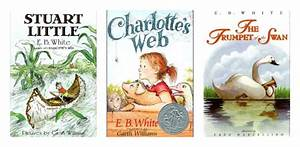 Eb White Loved Animals Including Spiders Lucky For Us