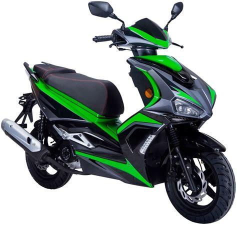 motorroller 50 ccm gt union motorroller 187 striker 171 50 ccm 4 schwarz gr 252 n kaufen otto