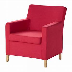Ikea KARLSTAD Chair SLIPCOVER Armchair Cover SIVIK PINK