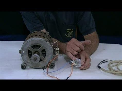 como conectar motor de lavadora