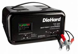 Diehard 10  2 Amp Automatic  Manual Battery Charger
