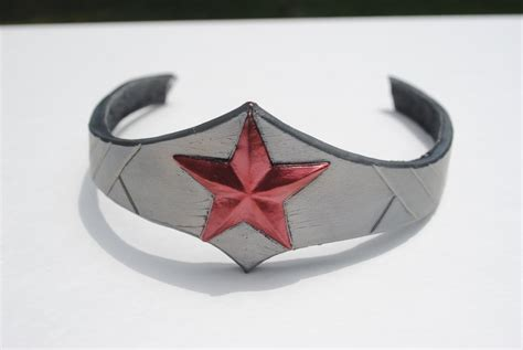 wonder woman tiara silver tiara by zigorc on deviantart