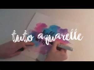 Faire Un Dégradé : faire un d grad en aquarelle youtube ~ Melissatoandfro.com Idées de Décoration