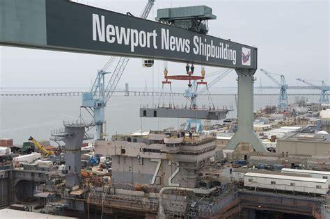 Newport News by Photo Release Newport News Shipbuilding Installs New