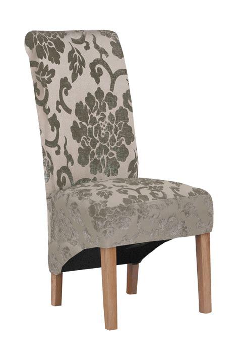 green fabric dining chair range