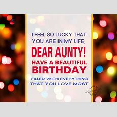 Birthday Wishes For Aunt  Birthday Images, Pictures