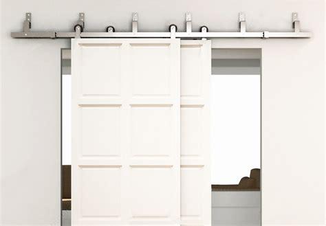 aliexpress buy 6ft bypass sliding barn wood door