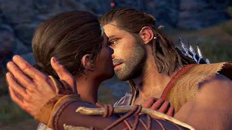 Assassin S Creed Odyssey Alexios Falls In Love Daphnae Romance Scene YouTube