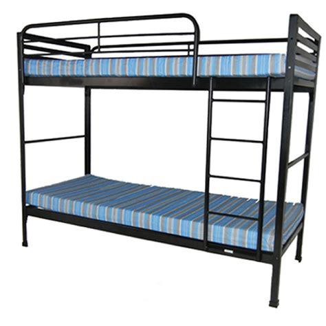 "Space Saving Narrow Camp Bed 30"" Bunk Bed W Mattresses"