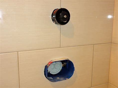 installing a new bathtub grohe tub shower valve
