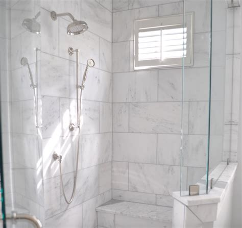 bathrooms with subway tile ideas 9 95sf carrara venato marble honed 9x18 quot floor and wall tile