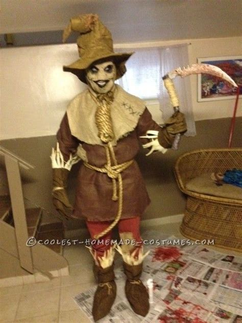 Scary Scarecrow Costume  Pinterest  Homemade, Halloween Costumes And The O'jays