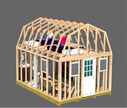 Shed Loft Building Plans Gambrel Barn Sheds