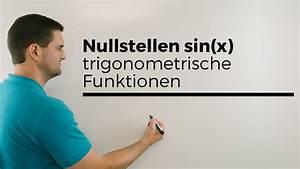 Nullstellen Berechnen X 2 : nullstellen sin x trigonometrische funktionen mathehilfe online mathe by daniel jung youtube ~ Themetempest.com Abrechnung