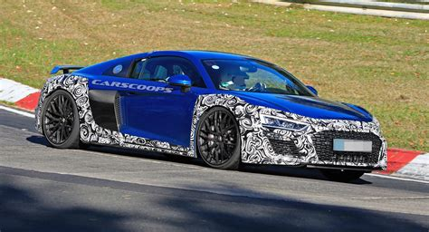 R8 Nurburgring by Audi Takes Its Facelifted R8 To The Nurburgring Carscoops
