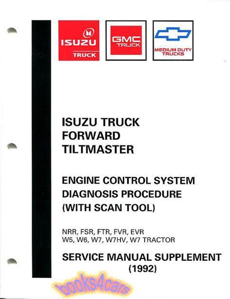 book repair manual 1992 isuzu stylus parental controls isuzu ftr manuals at books4cars com