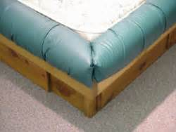 pc krinkle waterbed padded rails fabric