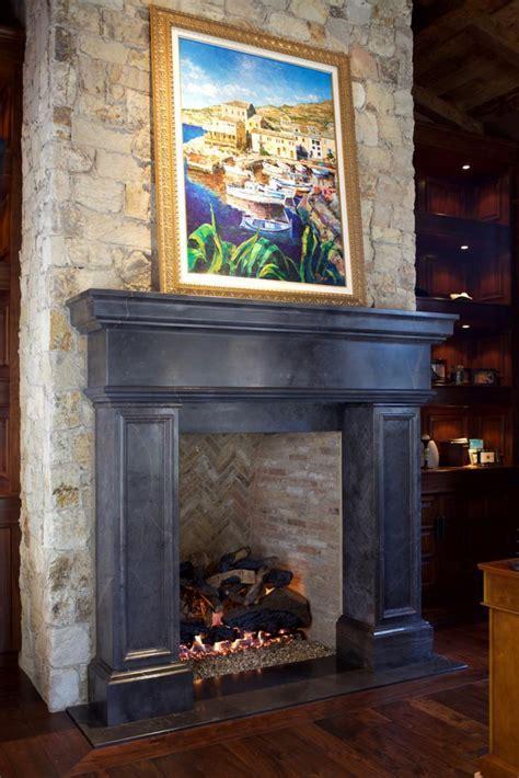 Italian & Tuscan Stone Fireplace Mantels   BT