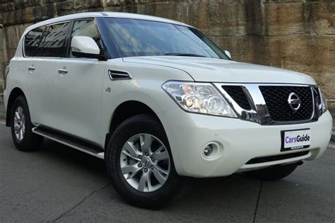 nissan patrol 2017 nissan patrol ti 2017 review carsguide