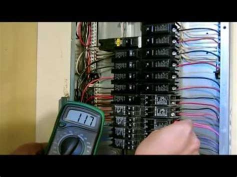 Broken Fuse In Fuse Box by Overhead Electrical Panel Meter Service Change Part
