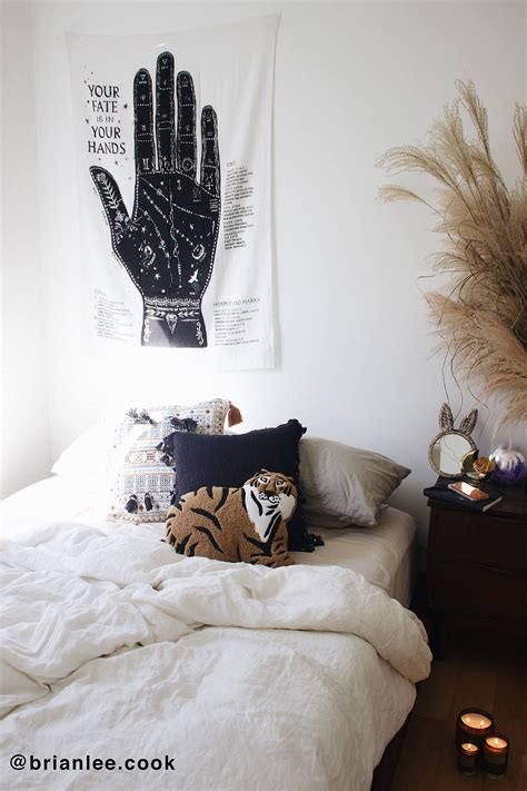 Bedroom Tapestry Uo by Palmistry Tapestry Astrology Tapestry Bedroom