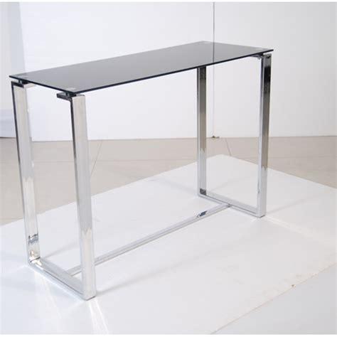 black glass console table zeus black glass console table 17680 furniture in fashion