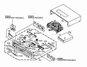 Toshiba D Vcr Combo Parts