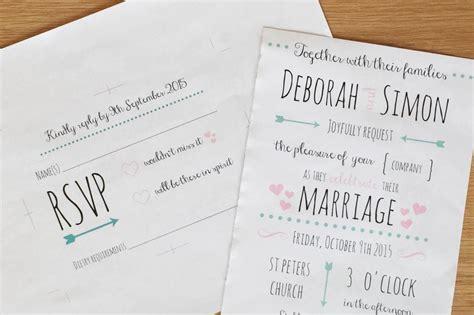 diy wedding invitations and tips hello deborah