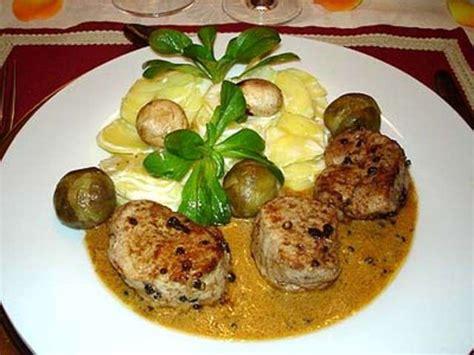 cuisine filet mignon recettes de filet mignon de veau de la cuisine des jours