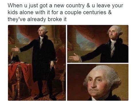 Washington Memes - broke america sassy george washington know your meme