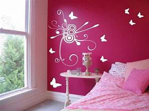 Bright, Pink, Bedroom, Wall, Ideas, U2013, Home, And, Apartment, Ideas