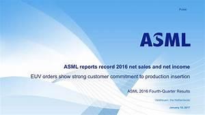 ASML Holding N.V. 2016 Q4 - Results - Earnings Call Slides ...