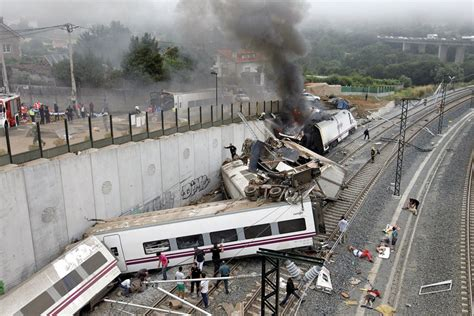 Train Crash In Spain
