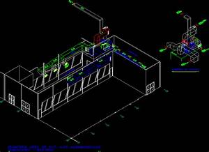 Isometric System Air Conditioning DWG Block for AutoCAD