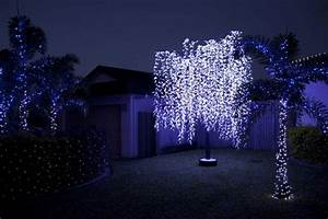 tr165 w01 gnw 15ft high lighted willow tree white color With outdoor light up willow tree