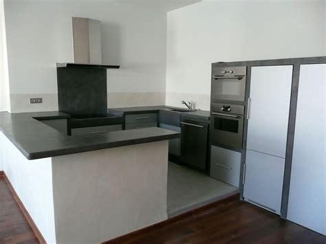 béton ciré cuisine leroy merlin plan travail cuisine beton cire de la cuisine par
