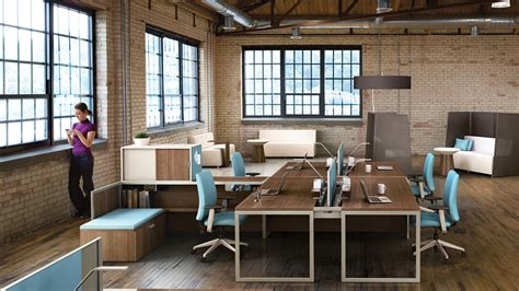 bureau steelcase turnstone tour bench collaborative office tables steelcase