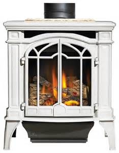 Free Standing Gas Fireplace Vent Free by Napoleon Porcelain White Gas Stoves Bayfield Gds25