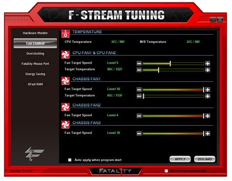 fan speed control software asrock fatal1ty z77 professional bios and software