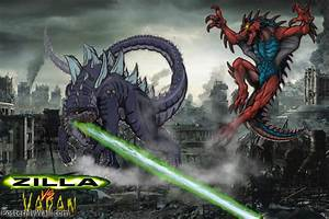 Zilla vs Varan by SuperGodzilla on deviantART
