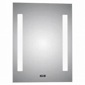 Badspiegel 80 X 60 : led lichtspiegel crystal creek 50 x 70 cm energieeffizienzklasse a mit kippschalter bauhaus ~ Bigdaddyawards.com Haus und Dekorationen