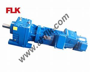 China Helical Gear Speed Reducer  R37