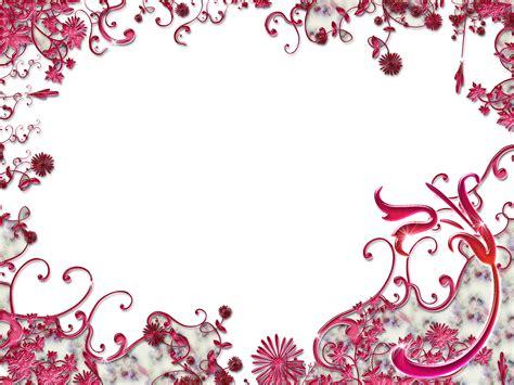 cadres et frames decorations rubans ribbons flowers